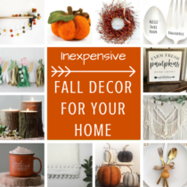 Inexpensive Fall Decor for Your Home Instagram