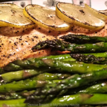 Grilled Whole30 Lemon Pepper Salmon
