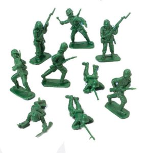 classic toys and games army men