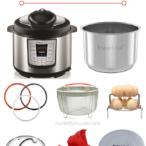 You don't want to skim past this lists of must have Instant Pot accessories. It's filled with some great ideas to make your Instant Pot cooking more efficient.