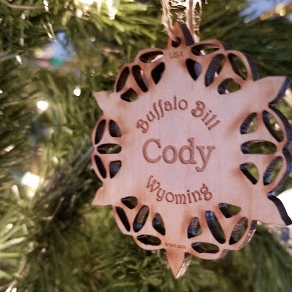 traditional Christmas tree Cody Wyoming