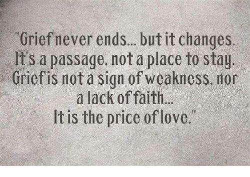 Grief Never Ends, Season of Sadness