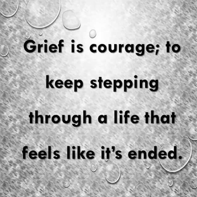 Grief is Courage, Season of Sadness