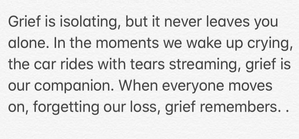 Grief never forgets, Season of Sadness