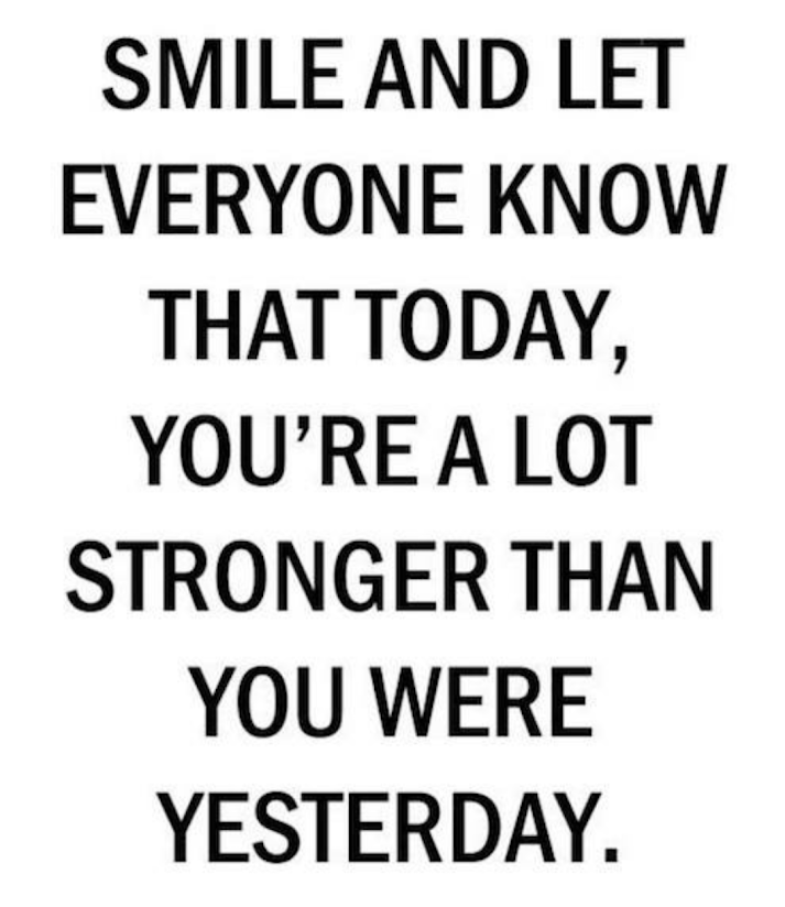 Today you are stronger than yesterday, Season of Sadness