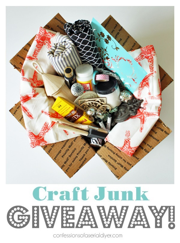 confessions of a serial DIYer Craft-Junk-Giveaway-April-2018