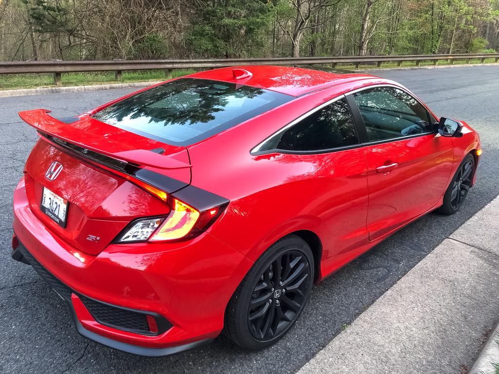 2020 Honda Civic Si Coupe HPT via Carsfera.com