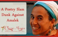 A Purim Poetry Slam Dunk Against Amalek