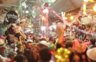 Shushan Purim Madness at Jerusalem's Market