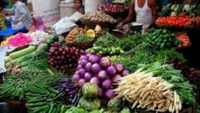 sabji vegetable stall