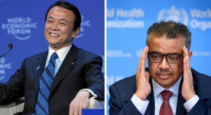 Japan Deputy PM