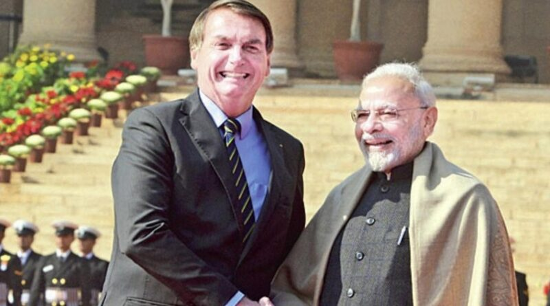 modi and jair bolsonaro