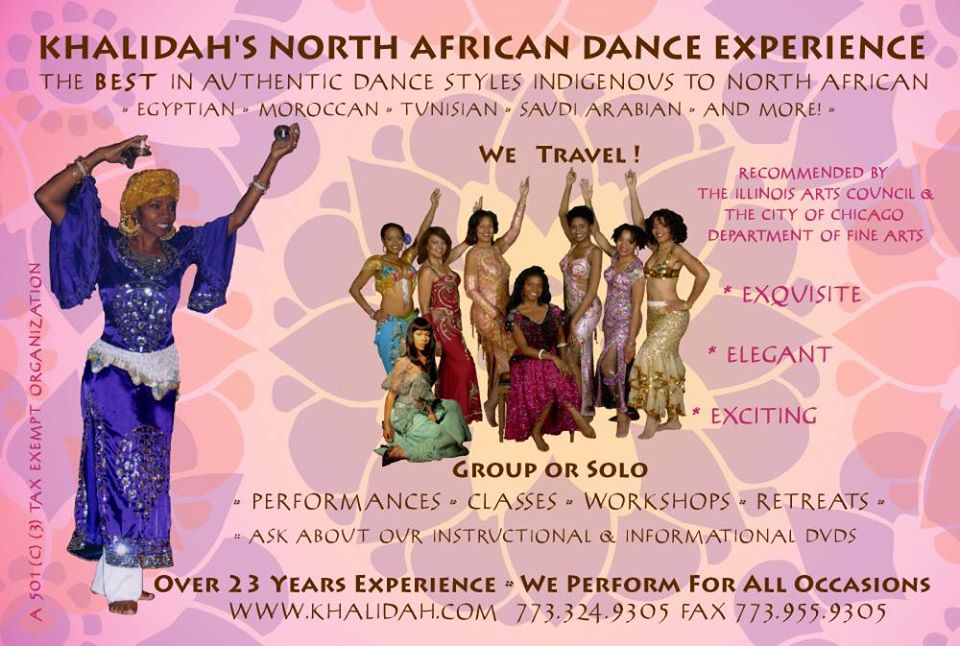 Khalidah's North African Dance Experience