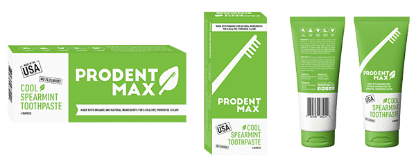 Prodentmax Organic and Natural Toothpaste
