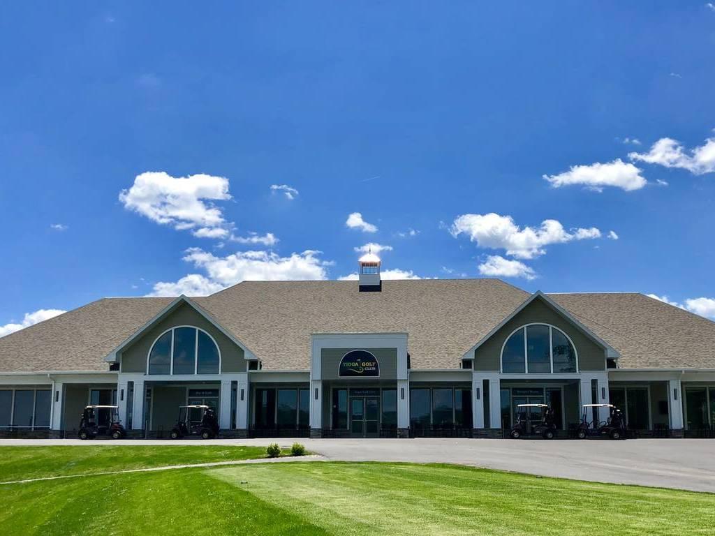 Golf Club Front