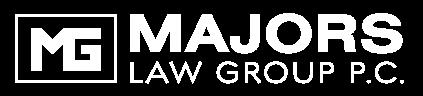 Majors Law Group white logo