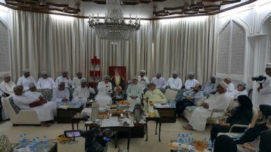 Photo of مجلس الخنجي يستعرض جهود الشركة العمانية لشراء الطاقة والمياه