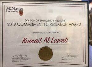 Photo of الطبيب العماني الفائز بجائزة في كندا عن بحثه يتحدث لـ شؤون عمانية عن إنجازه العلمي