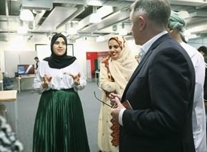 Photo of معرض (اكتشف عمان) بجامعة ستراثكلايد البريطانية