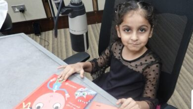 Photo of برنامج القارئ الصغير : مع القارئة الصغيرة آلاء بنت علي اللواتية