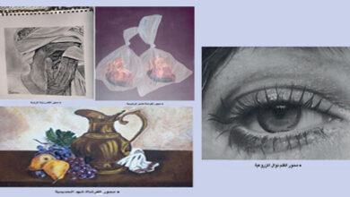 Photo of 4 لوحات فائزة فـي مسابقة «لوحة وفنان»