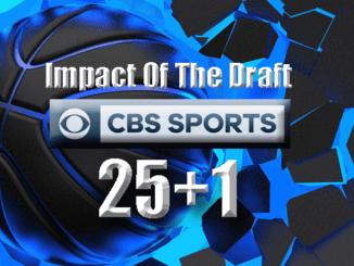Impact Of The Draft - CBS 25+1