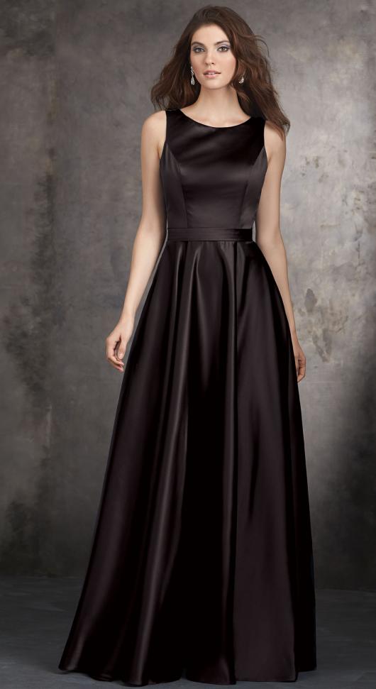 2015-a-line-black-satin-long-prom-dress