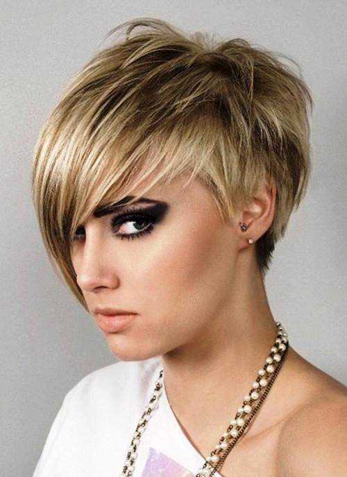 Chic Messy Short Hairdos 2015