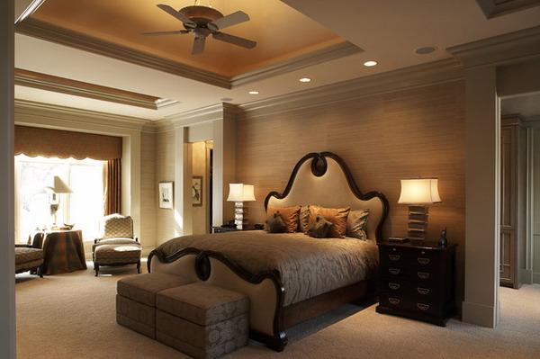 Classic-Master-Bedroom-Design-with-Unique-Bed-Furniture