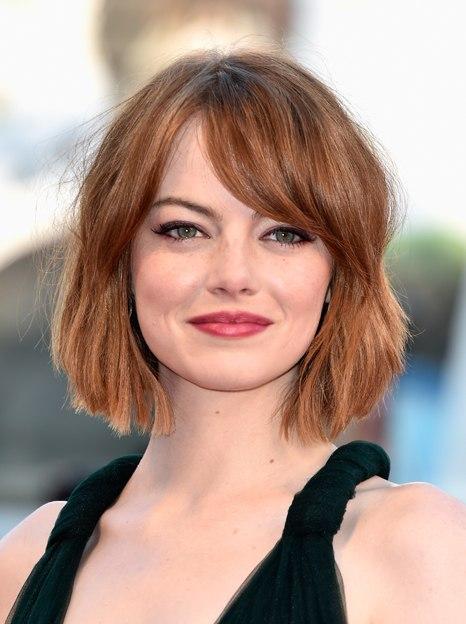 Emma Stone short hair