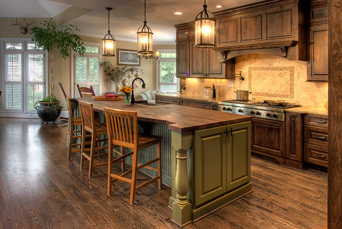 French-Country-Style-Kitchen-Decorating-Idea