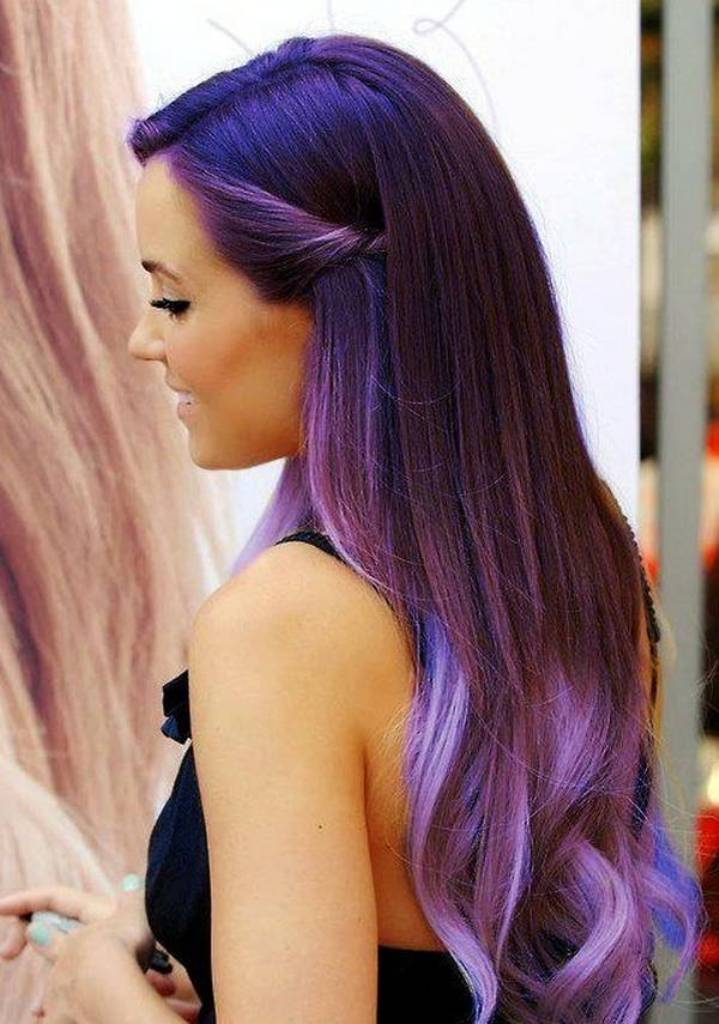 Ombre-hairstyles-2014-2015-in-Purple-Color