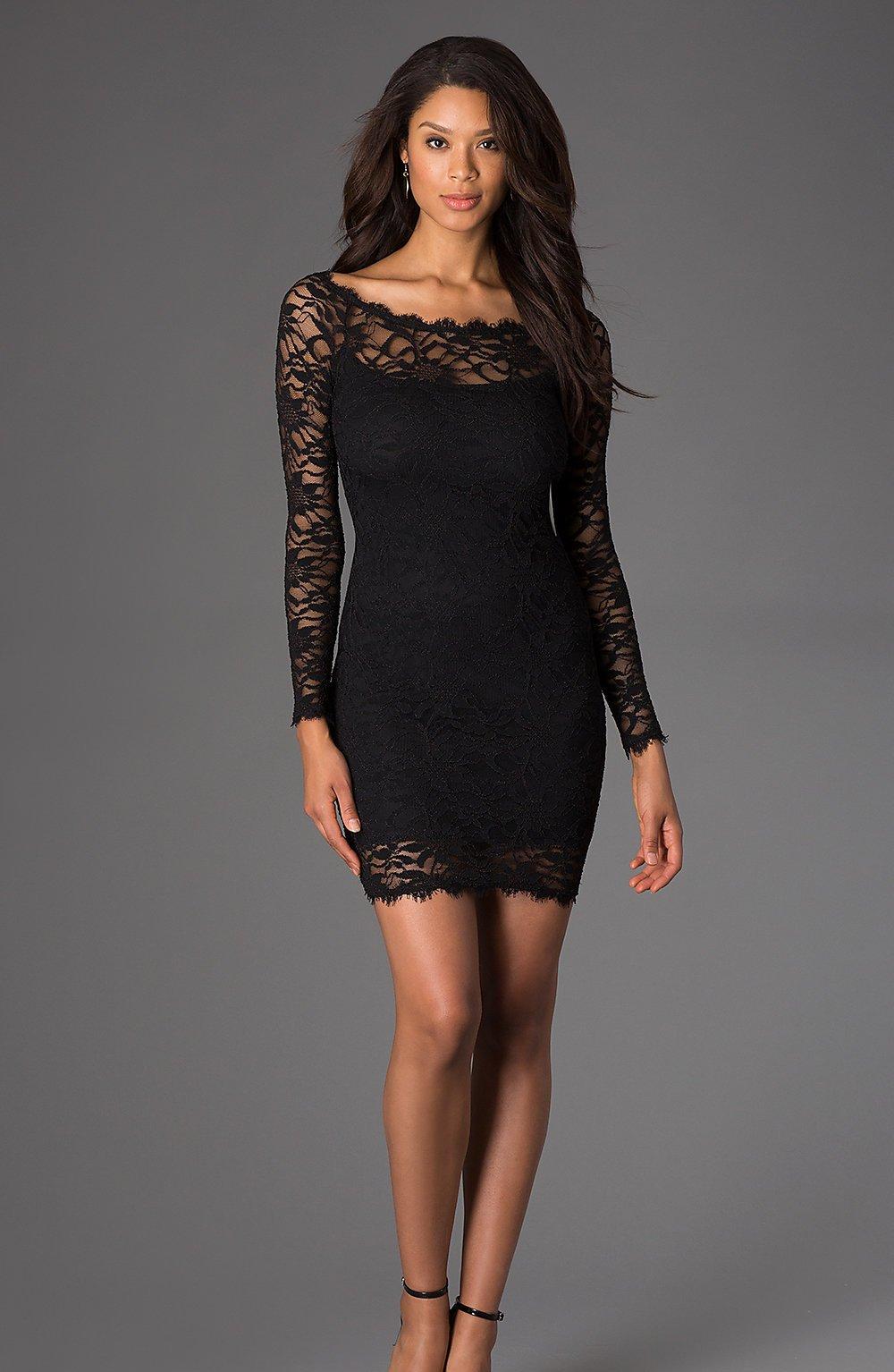 Short Sexy Black Dresses