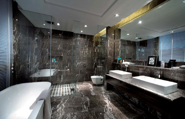 Super-Luxury-Bathroom-Decoration-Dark-Marble-Wall-and-Floor-Design_