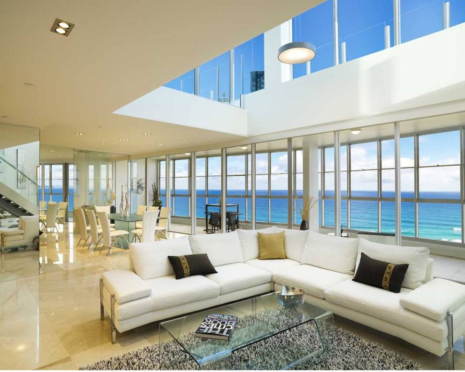 Two Levels of beach front luxury Penthouse