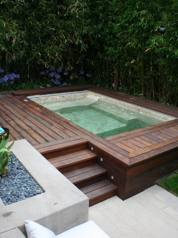 Wooden-Patio-Jacuzzi-Design
