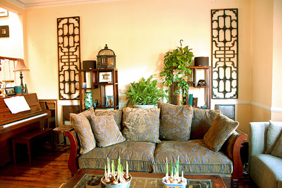Asian-Style-Living-Room-Interior