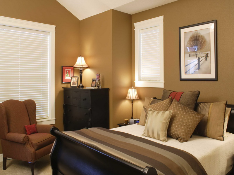 Attractive-Cozy-Master-Bedroom-Paint-Color