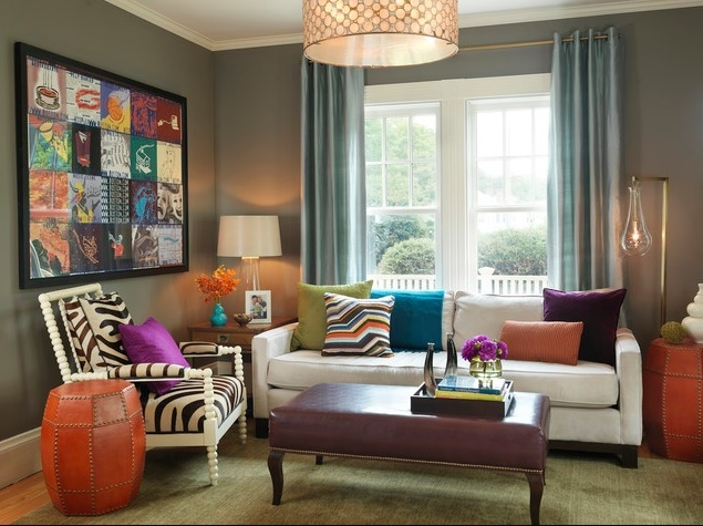 Bright-Color-Paints-Living-Room-With-Bright-Colors