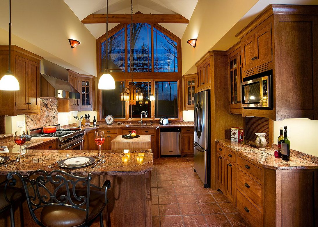 Craftsman-Style-Cabinets-Mission-Style-Kitchen-Cabinets
