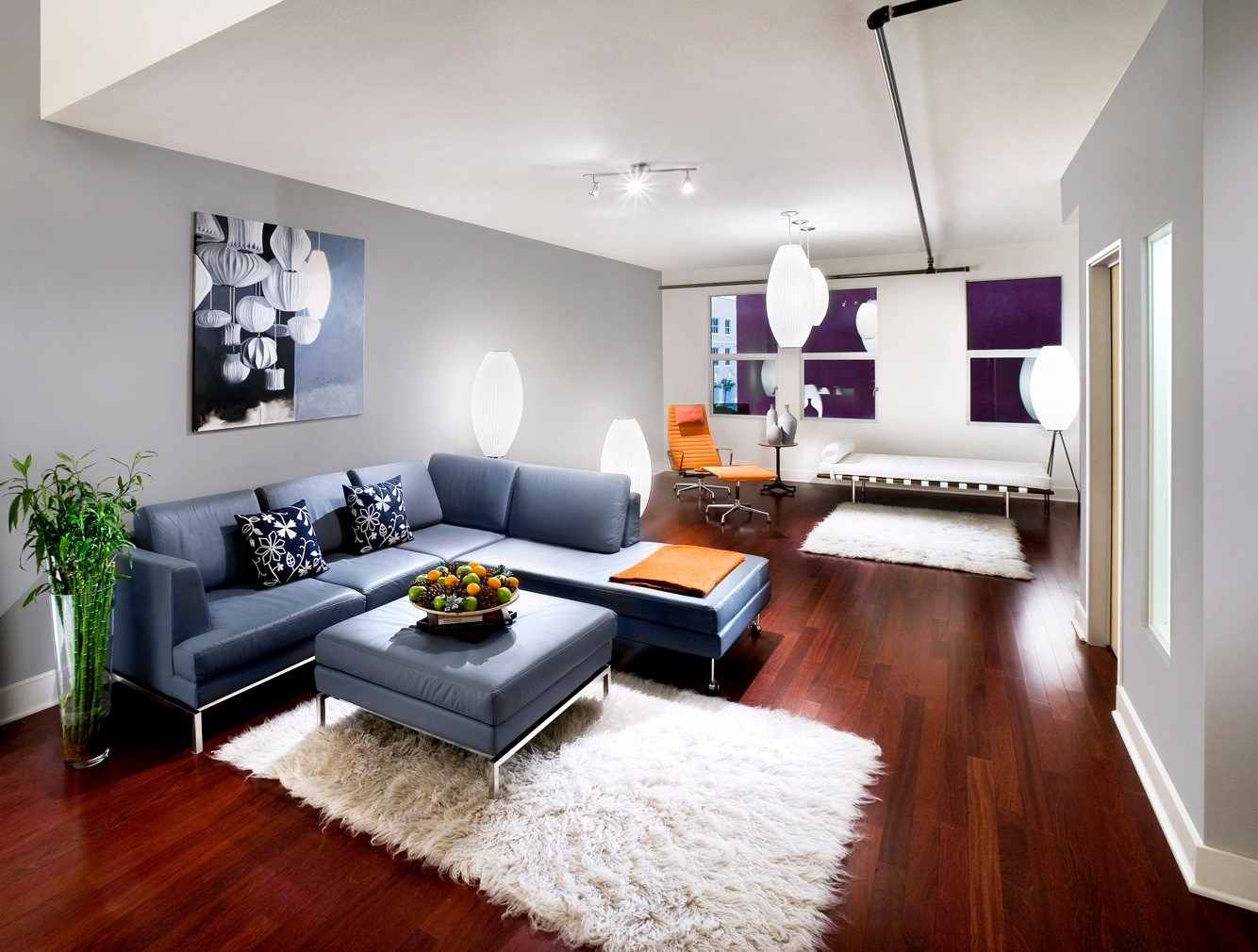 Cute-Modern-Living-Room-Set-Up-In-Decor-Gallery-Ideas