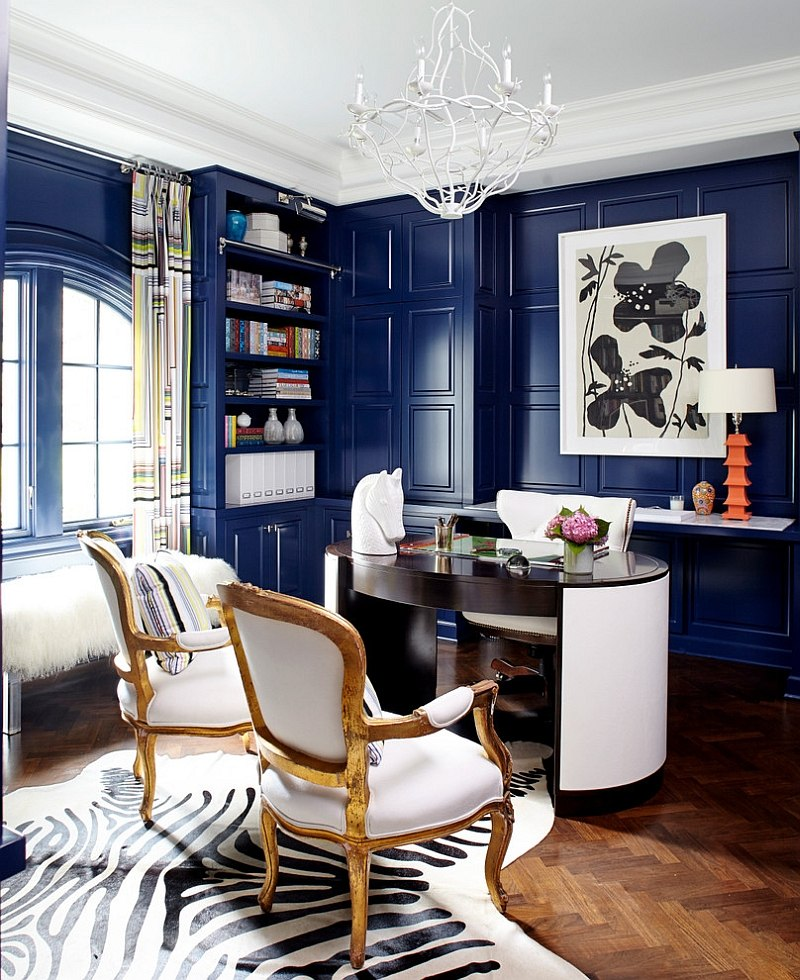 Eclectic Home Office Ideas