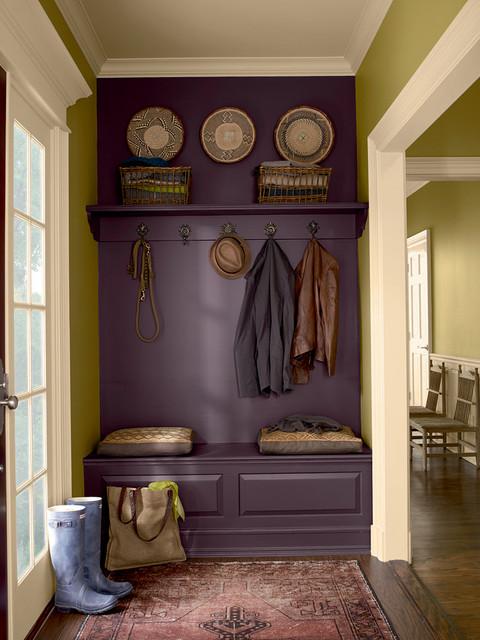 Elegant Traditional Entry Design Ideas