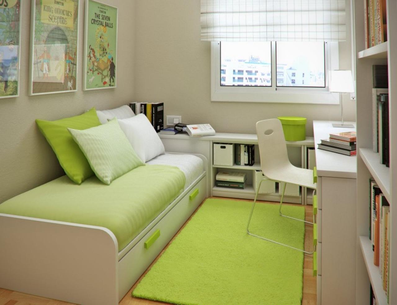 Fabulous-Green-Small-Bedroom-Ideas-Inspiration
