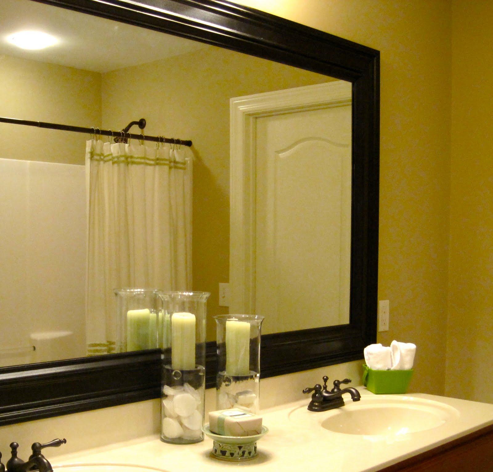 Framed-bathroom-mirrors