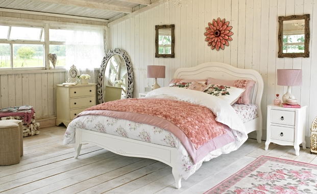 French style bed frame
