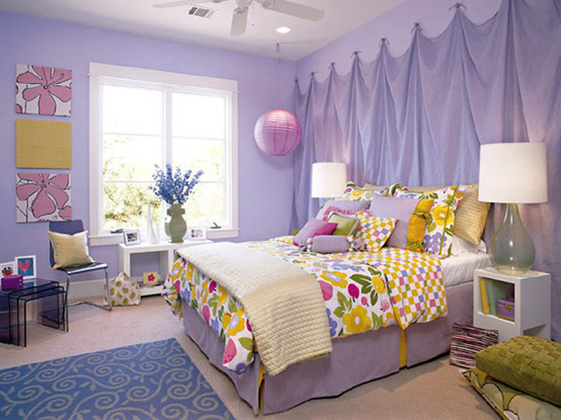 Lavender-Bedroom-at-Awesome-Colorful-Bedroom-Design-Ideas