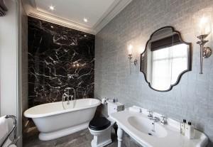 21 Cool Black And White Bathroom Design Ideas