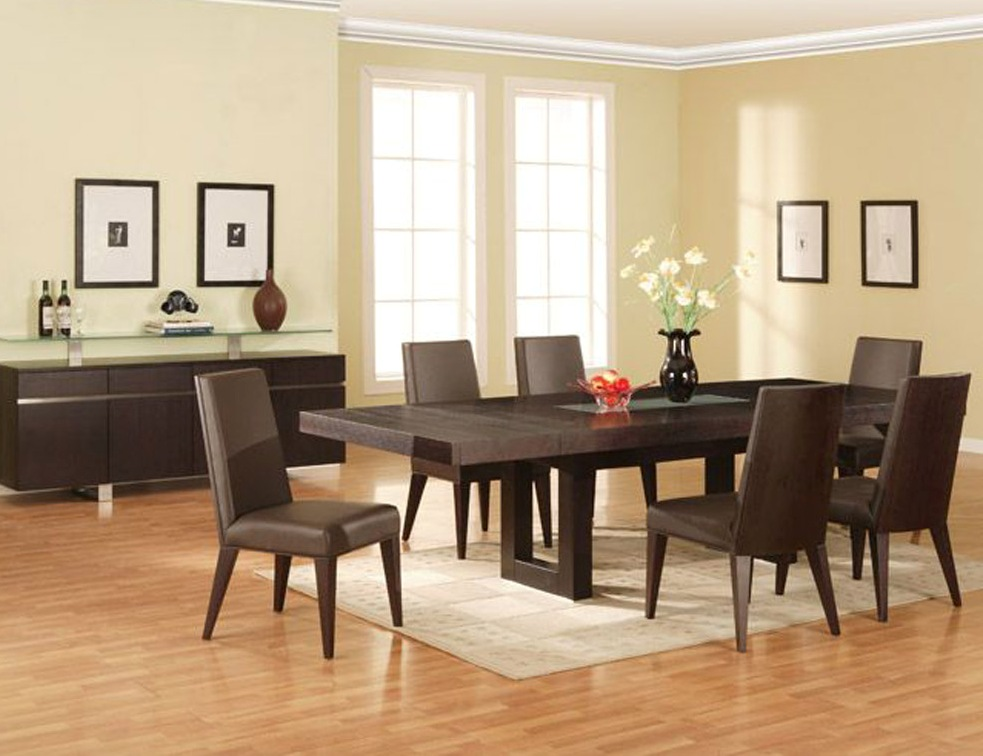 Modern Dining Rooms Sets
