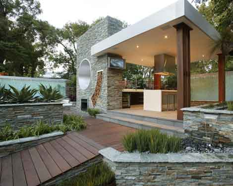 Modern-Style-Of-Outdoor-Kitchen-Design-Ideas